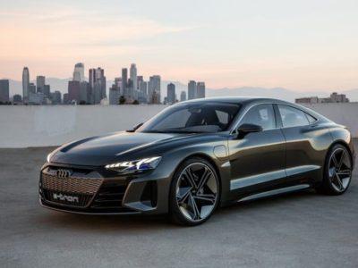 Världspremiär för eldrivna Audi e-tron GT concept i Los Angeles