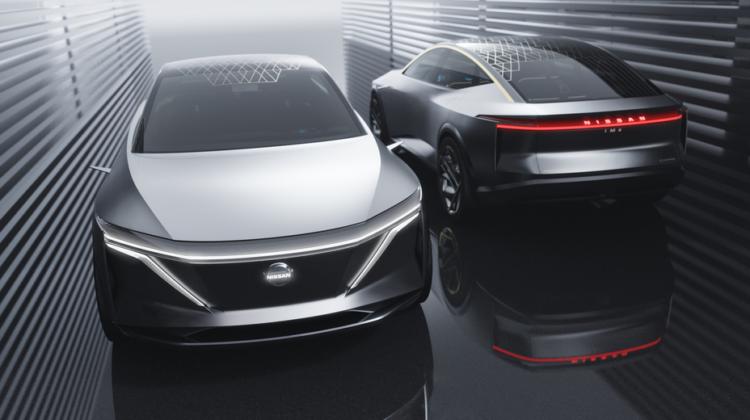 Nissan's IM concept: Introducerar den 'höjda sport sedanen'