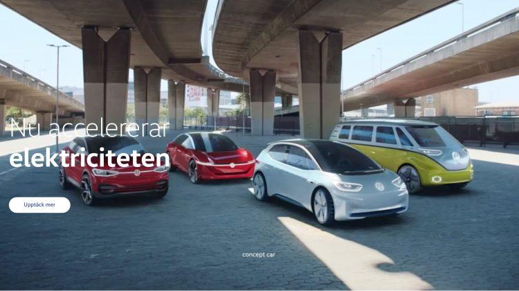 Kommande elbilar från Volkswagen – 6 konceptbilar och en tävlingsbil