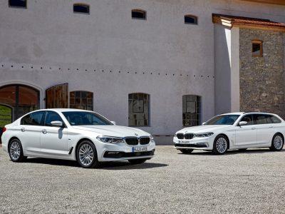 BMW 5-serien: nu med mildhybrid-teknologi