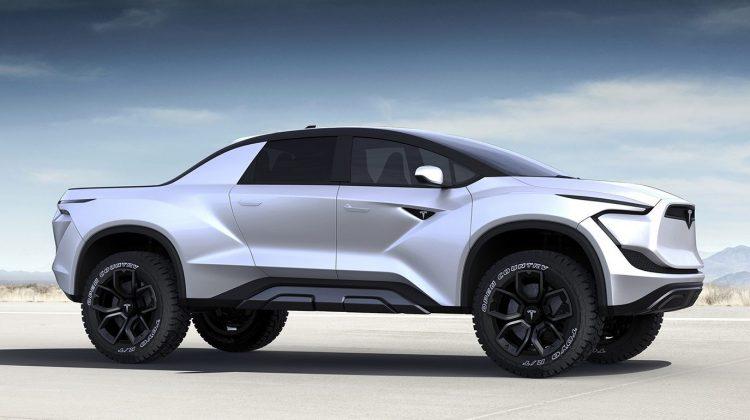 Teslas Nya Pickup – Model B