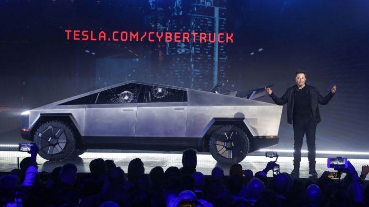 Ny elbil från Tesla – Det här är Teslas Cybertruck!
