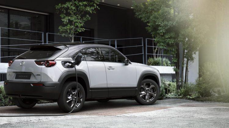 Nytt! Mazdas nya elbil MX30 från 349.900 kr