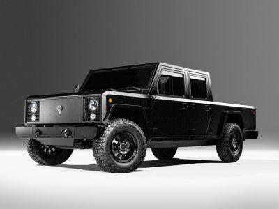 Ny elbil från Bollinger – B2 är en ny eldriven pickup!