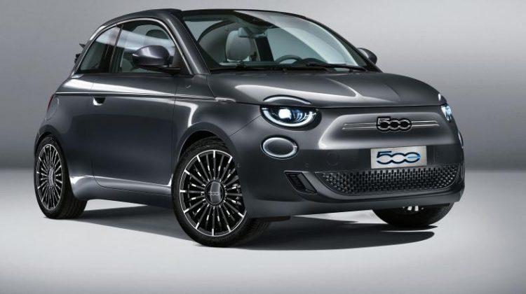Med nya elbilen Fiat 500e kommer du hela 32 mil