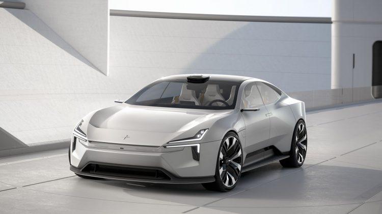 Polestar Precept – konceptbil som skulle visats i Genève